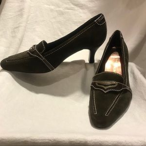 Brown Suede leather heels - 10WW